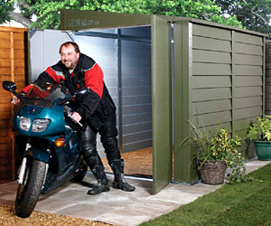 Motorcycle Garages Motorbike Storage MK Containers