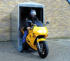 Bikesafe 250 Bike Safe 250 Galvanised Motorcycle Security