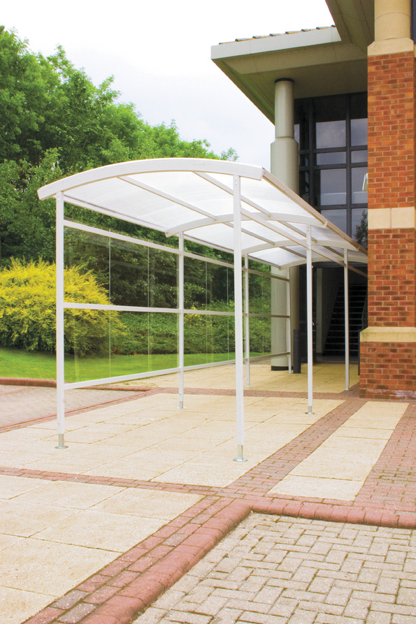 Covered Shelter Polygon : Mk containers smoking shelters and walkways